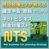 ネットビジネス税金対策ストラテジー『NTS(ネッツ)』